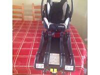 Recaro Baby Seat & Isofix base. (Glasgow/Renfrew)