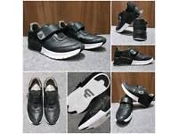 Bullboxer unisex leather black trainers UK 6.5 EUR: 39/40 RRP: £75