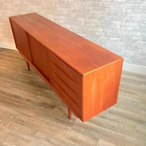 Mid Century Danish Teak and Rosewood Sideboards