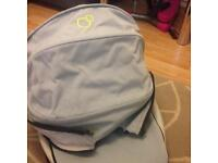 Quinny two in one - Carrycot, quinny zapp pram and adapters