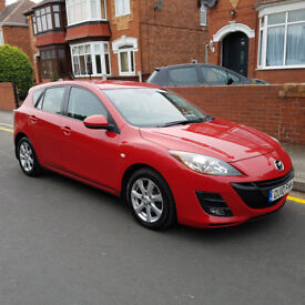 2010 Mazda 3 1.6D TS2 Diesel 5 Door Stunning Red Tax and Test