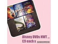 Disney DVDs new and sealed rrp £14 each ❤️