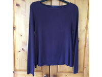 M&S Collection purple long-sleeve top. Approx size 12. Happy to post.