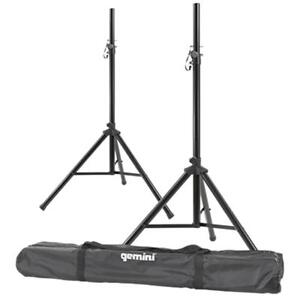 "Gemini ST-PACK Dual Speaker Stands with Carry Bag For your PA DJ Speakers 8"", 10"", 12"", 15"""