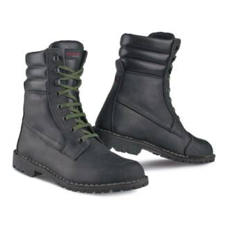 Stylmartin Indian Black Motorcycle Boots Size 42EU (USA Size 9)