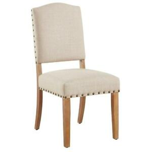 Beige Fabric Side Chair Sale-WO 7745 (BD-2551)