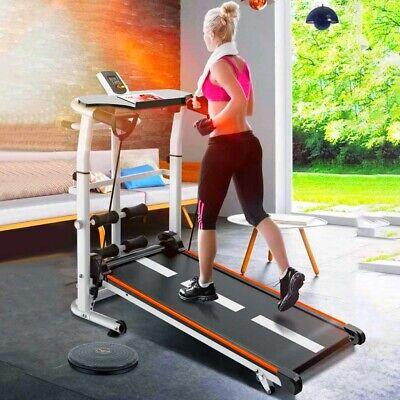 Mini Treadmill Folding Mute Fitness Equipment Wide Run Belt Mechanic Treadmill