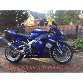 1999 Yamaha yzfr1 good clean bike motd £1999