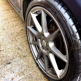 Alloys wheels & tyres '18 VW Jetta