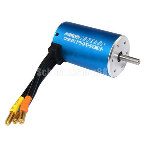 Car Parts - 3660 3300KV Waterproof Brushless Motor for RC 1/10 Car Truck Model Spare Parts