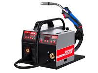 200AMP MIG/MAG Welder PATON PSI 200P DC Welding Machine Wire Feed Binzel Torch