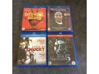 Horror blurays