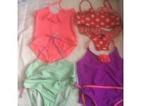 Girls swimwear age 7-9 x11