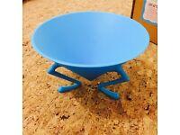 Alessi Bowl (model CD01 AZ) Blue