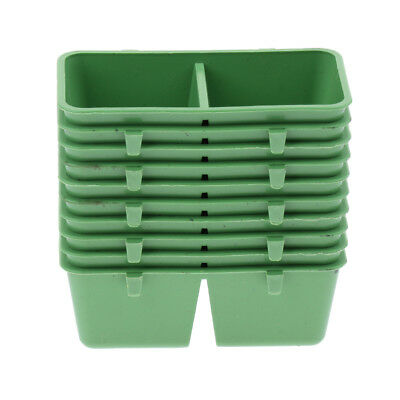 10Pcs 2in1 Bird Parrot Food Water Bowl Cups Pigeons Feeding Feeder