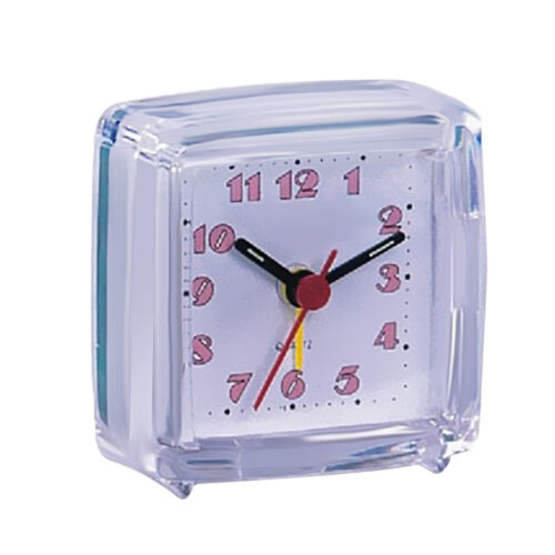 Mini Travel Alarm Clock Portable Table Desk Snooze Clock with Night Light 03