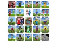CHEAP Mascot Costume Hire, Paw Patrol Pokeman Frozen, shopkins mickey minnie Power Ranger