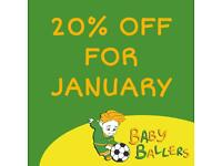Toddler Football - BabyBallers Academy Rainham