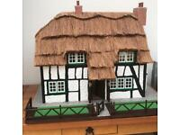 Thatched Dolls House 1/12th scale