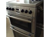 Beko 50cm Electric double oven Cooker with ceramic hob