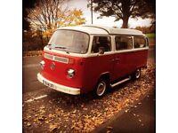 WANTED - Garage or barn space to store vintage VW campervan in Stirling