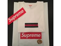 Supreme Gucci style Box Logo Tee