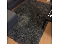 IKEA Gaser Rug, Dark grey (1year old)