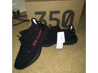 Yeezy Boost 350 V2 Black Red New Release