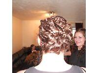 Mobile hairdresser & hair extension technician