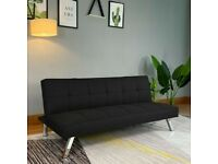 Modern Fabric Sofa Bed 3-SEATER Recliner | Available in BLACK & GREY