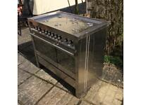 SCRAP/PARTS Old Smeg Range Cooker (not working)