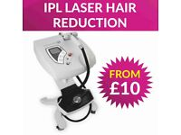 Special offer laser hair reduction