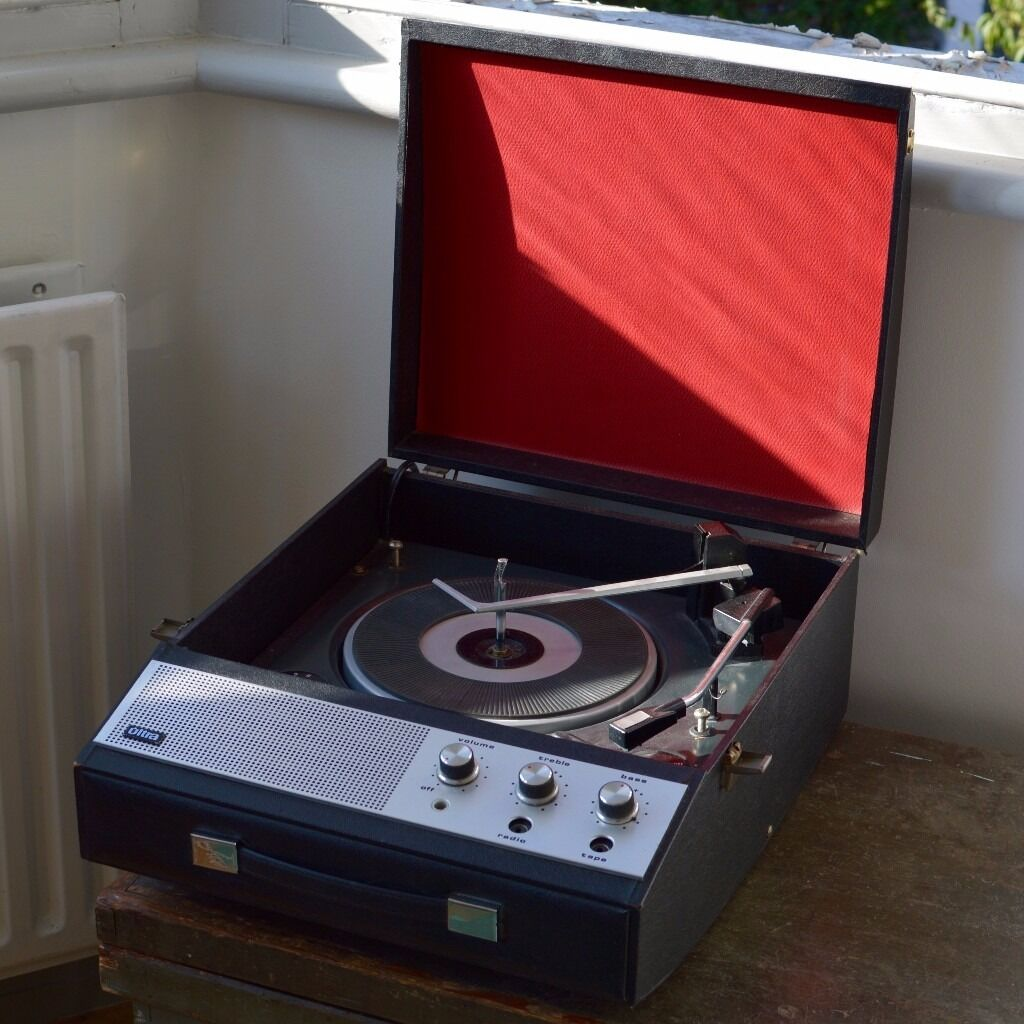 Ultra Vintage Portable Record Player Great Condition