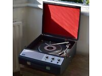 Ultra vintage portable record player - great condition