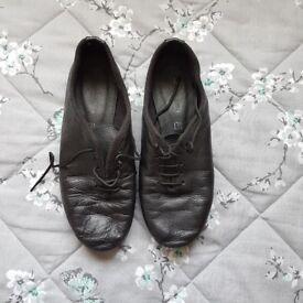 Kids Jazz Dance leather shoes Freed of London unisex size uk 13.5