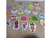 Bundle of over 20 girls jigsaw puzzles