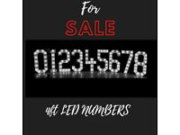 4FT LED LIGHT UP NUMBERS FOR SALE - 012345678