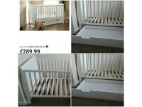 obaby sleigh cot bed