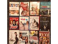 12 Mixed Genre DVD bundle