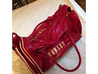 Vintage** pre 80's Hamlet special leather holdall