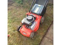 Petrol self propelled lawn mower