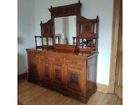 Antique Side Board/Dresser - dining/living room or hall