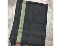 Gucci black £15 scarf Unisex