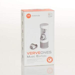 Motorola Verve Ones Completely Wireless and Waterproof Smart Earbuds white - BRAND NEW