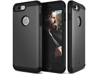 iPhone 7 Plus Case, Caseology [Titan Series] Heavy Duty Protection Defense Shield [Matte Black]