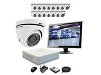 Hikvision 16 x 1080p HD Dome 2.0MP CCTV Camera Kit Complete Outdoor Kit 500GB HDD