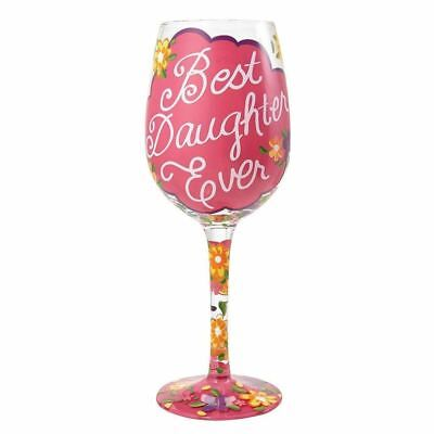 Lolita 4054094 Best Daughter Ever Wine Glass - Beste