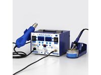 WEP-862BD+SMD ESD SAFE 2IN1 SOLDERING IRON HOT AIR REWORK STATION
