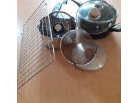 Assortment of cookware