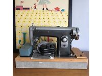 Two Vintage Sewing Machines